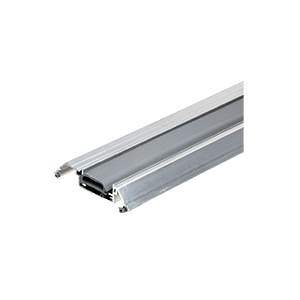 """CRL LB36 3-5/16"""" Wide Air-Stop Height Adjustable Threshold"""