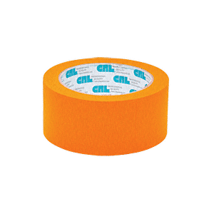 "Orange 2"" Vinyl Molding Retention Tape - Without Warning"