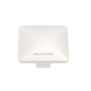 CRL PC2W Sky White 100 Series Low Profile Post Cap