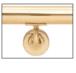 CRL HR15WAPB Polished Brass La Jolla Series Wall Mounted Hand Rail Bracket