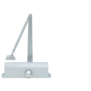 CRL PR40A Aluminum Adjustable Spring Power Size 1 to 4 Surface Mount Door Closer