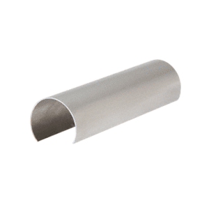"CRL GR30CSS Stainless Steel 3"" Connector Sleeve for Cap Railing, Cap Rail Corner, and Hand Railing"