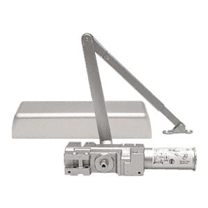 CRL PR90A Aluminum Adjustable Spring Power Size 1 to 6 Cast Iron Surface Mount Door Closer