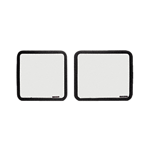 "CRL VW40371 Fixed 60% Window - Side Hinged Door 1997+ Chevy/GMC Vans 22"" x 21-7/8"""