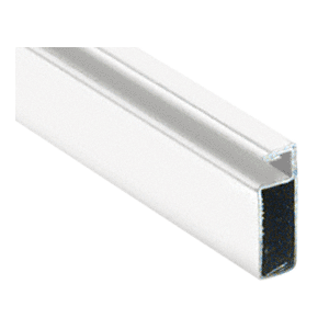 "CRL WSF344W White 3/4"" x 1/4"" Roll Formed Aluminum Screen Frame - 144"""