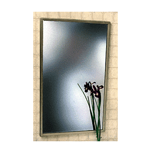 CRL 18 x 24 Stainless Steel Theft-Proof Mirror Frame