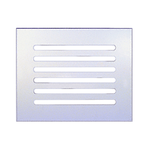 "CRL FMG1080 Clear Flat Acrylic 10"" x 8"" Mirror Grille"