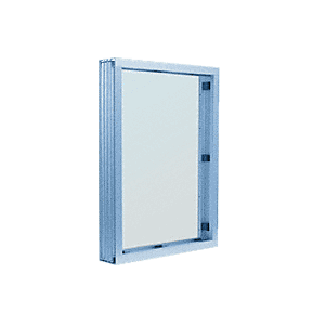 CRL N1V1P Painted (Specify) Aluminum Narrow Inset Frame Interior Glazed Vision Window