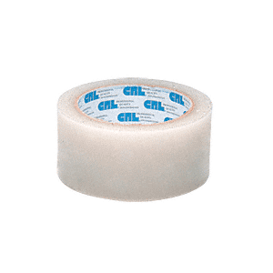 "CRL MT112C Clear 1-1/2"" Vinyl Molding Retention Tape - Without Warning"