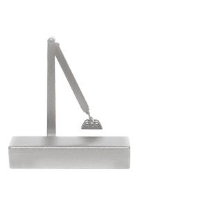 CRL PR70BFA Aluminum Adjustable Spring Power Size 1/2 to 4 Surface Mount Door Closer