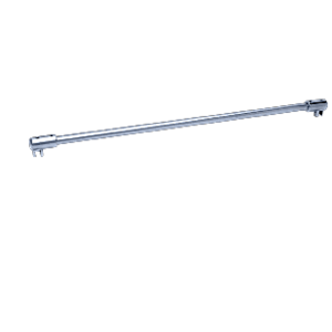 """CRL SUP20CH Polished Chrome Frameless Shower Door Fixed Panel Glass-To-Glass Support Bar for 3/8"""" to 1/2"""" Thick Glass"""