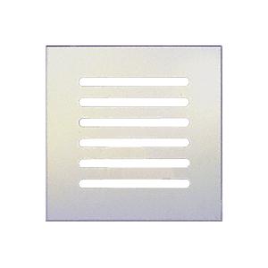 "CRL FMG880 Clear Acrylic 8"" x 8"" Mirror Grille"