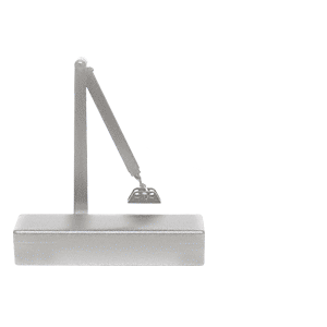 CRL PR74BCA Aluminum Adjustable Spring Power Size 2 to 6 Surface Mount Door Closer