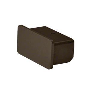 "Hansen ARHECBRZ Matte Bronze 1100 Series Quick Connect End Cap for 1"" x 2"" Tubing"