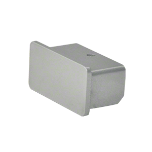 """Hansen ARHECCA Clear Anodized 1100 Series Quick Connect End Cap for 1"""" x 2"""" Tubing"""