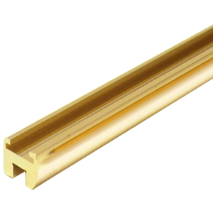 "CRL HE06BR Brass 98"" Header Bar Only for HEADER06"