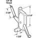 CRL H3694 Right Hand Awning Window Operator for Look and Rusco Windows