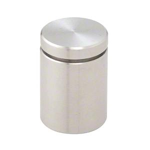 "CRL ABEG114BS 1-1/4"" Brushed Stainless Single Sided Adjustable Barrel Edge Grip"
