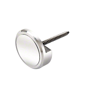 """CRL APC114PS Polished Stainless 1-1/4"""" Panel Clip"""
