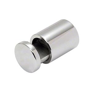 "CRL ABEG1PS 1"" Polished Stainless Single Sided Adjustable Barrel Edge Grip"