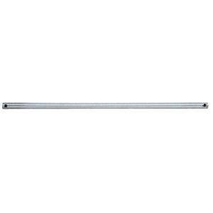 "Brushed Nickel 36"" Shelf Rods"