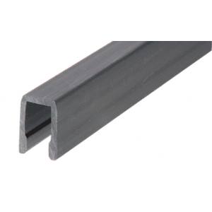 "CRL CR3PVT CRS Cap Rail Vinyl for 3/8"" Glass Used On Top Rail Only"