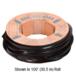 "CRL GG12100 1/2"" Roll-In EPDM Gasket for Sidelite Rails - 100' Roll"