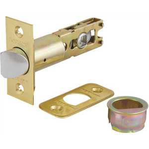 Defiant KTL710-SXA5 6-Way Adjustable Polished Brass Spring Latch