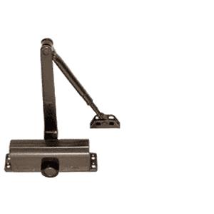 CRL DC51BRZ Dark Bronze ANSI Grade 1 Size 1 Light Duty Surface Mount Door Closer
