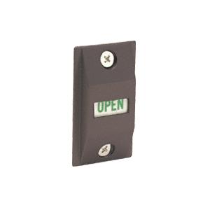 "CRL DL2177DU Bronze Lock Indicator Set Slide Down = ""LOCKED"""