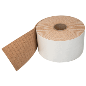 "CR Laurence CNA12B-XCP10000 CRL 1/2"" x 1/2"" x 1/4"" Cork No-Adhesive Shipping Pads - Bulk - pack of 10000"
