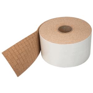"CRL 1/2"" x 1/2"" x 1/4"" Cork No-Adhesive Shipping Pads - Bulk - pack of 10000"