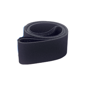 "CRL CRL4X106220X 4"" x 106"" 220X Grit Wet Abrasive Belts for Upright Belt Sanders - 5/Bx"