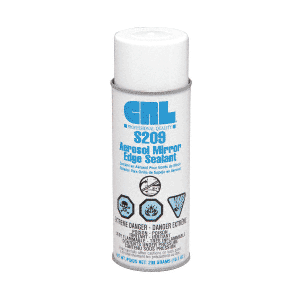 CRL S209 Aerosol Mirror Edge Sealant