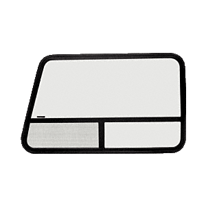 "CRL VW21421R T-Slider Window Passenger Side Rear 1997 Plus Chevy/GMC Vans 41-3/8"" x 26-7/8"""