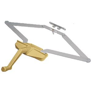 "CRL EP23009 Coppertone 21-1/2"" Roto-Gear Awning Window Operator"