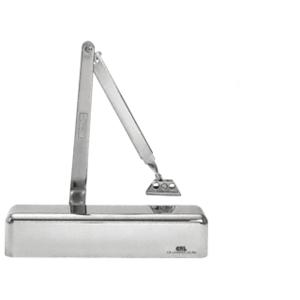 CRL PR70BFCH Polished Chrome Adjustable Spring Power Size 1/2 to 4 Surface Mount Door Closer