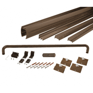 "CRL DK1460720RB Oil Rubbed Bronze 60"" x 72"" Cottage DK Series Sliding Shower Door Kit with Metal Jambs for 1/4"" Glass"
