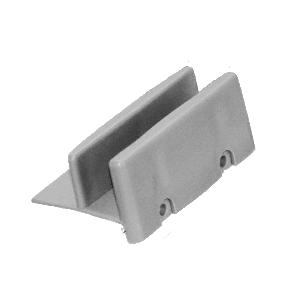 """CRL M6192 1-11/16"""" Wide Sliding Shower Door Bottom Guide - pack of 2"""