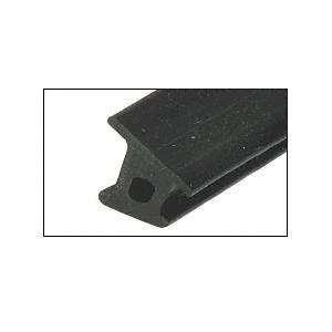 CRL BSG500 Black Top Rubber Gasket for Monolithic Tempered Glass Base Shoe - 500' Roll