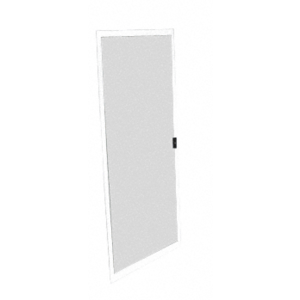 "CRL RA40W5P White 48"" Replace-All Sliding Screen Doors"