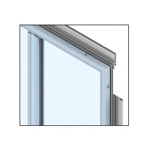 CRL PDS400CBW Bone White Premier Series Wall Panel System