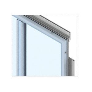 CRL PDS400CBBRZ Custom Brushed Bronze Premier Series Wall Panel System