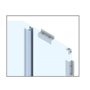 CRL EWS100CKN Custom KYNAR Paint Standard Series Wall Panel System