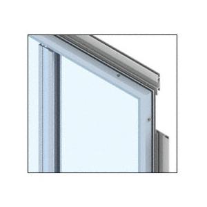 CRL PDS400CMP Custom Mica Platinum Premier Series Wall Panel System