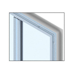 CRL PWS300CNL Custom Color Newlar Painted Heavy Plate Series Wall Panel System