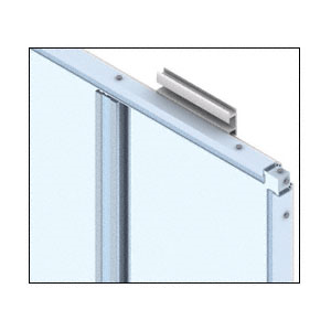 CRL DWS200CSA Custom Satin Anodized Deluxe Series Wall Panel System