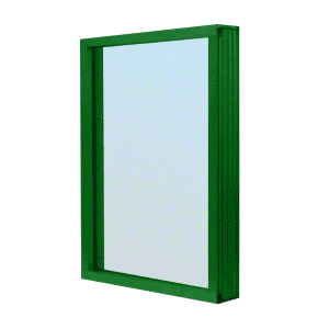 CRL N1VEK Custom KYNAR Painted Aluminum Narrow Inset Frame Exterior Glazed Vision Window