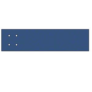 CRL AW0SPT Custom Powder Painted Square Configuration Outrigger - Custom Length