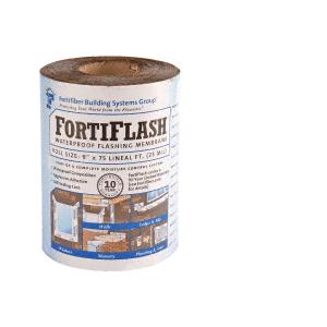 "FortiFlash M706040 40 mil 12"" x 75' Fortifiber Waterproof Flashing"